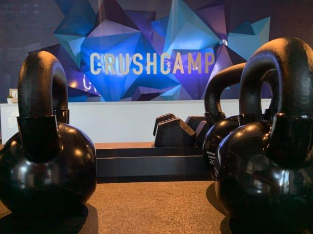 Crush Camp owner and CEO Emily Slaneff said she had been involved with conversations about safely reopeningwith the government, and Monday's announcement took her by surprise. (Terri Trembath/CBC - image credit)