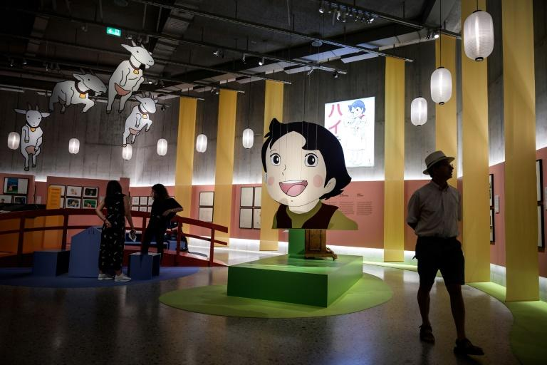 An exhibition in Zurich explores the role played by the character Heidi in Japan's now booming anime industry