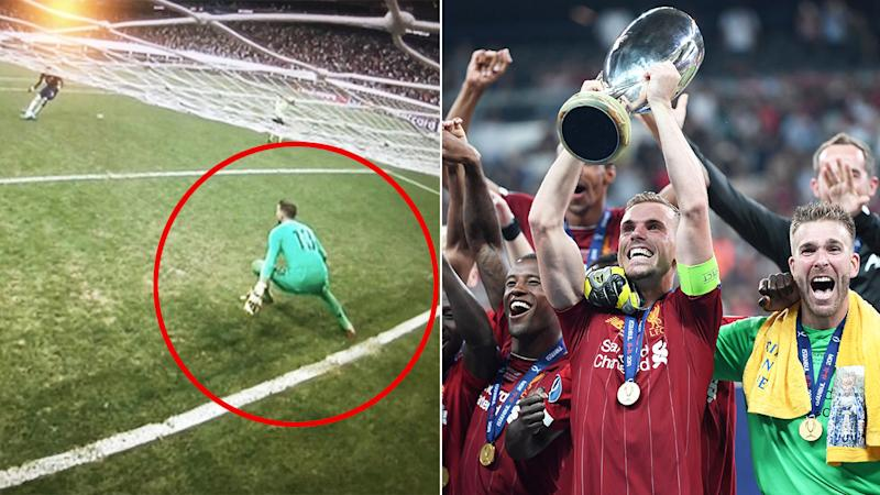 Liverpool beat Chelsea in a controversial UEFA Super Cup.