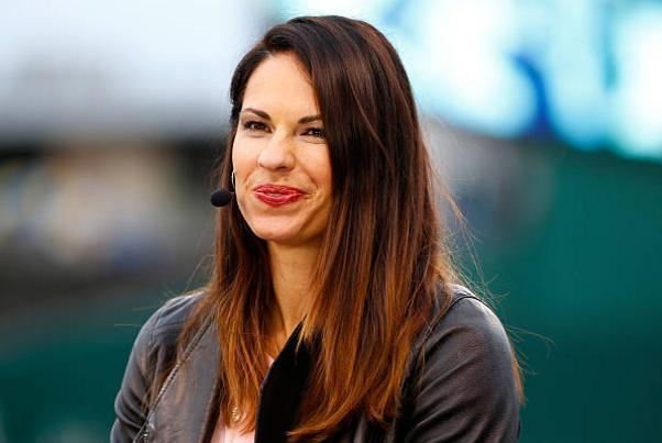 Jessica Mendoza is the lone holdover from ESPN's three-person broadcast booth on 'Sunday Night Baseball.' (Getty Images)