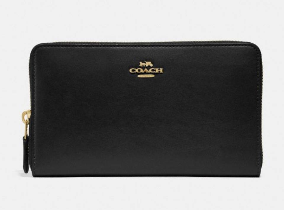Continental Wallet (Photo: Coach)