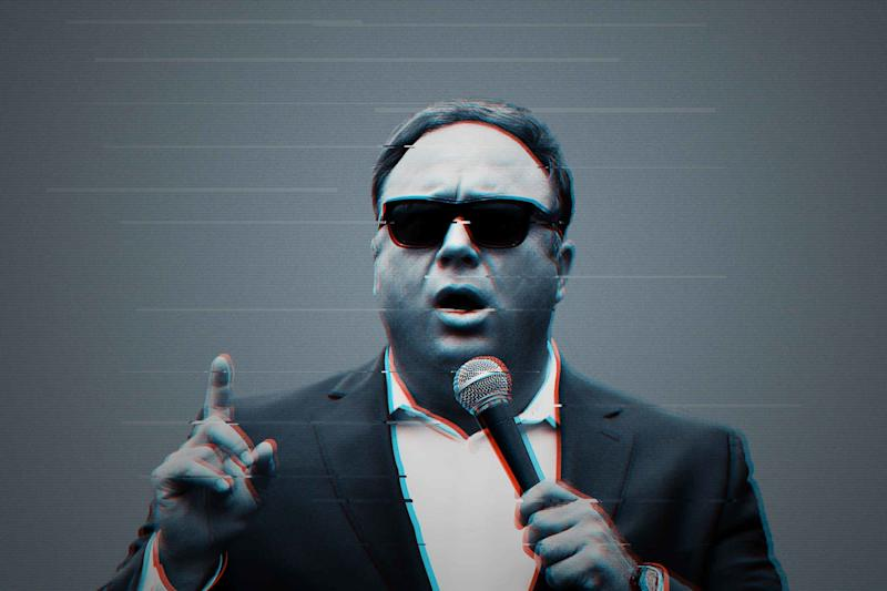 Alex Jones is having a bad year.
