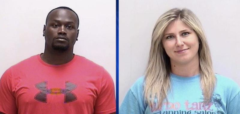 Brison Strickland lost his job and was arrested alongside fiancée Kristen Smith. (Photo: Bartow County Sheriff's Office/Fox 5)