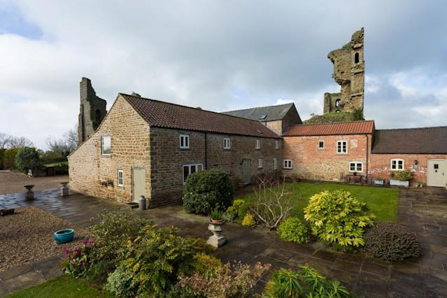 <p>The Warden's House at Sheriff Hutton Castle in North Yorkshire. (Photo: Caters News) </p>