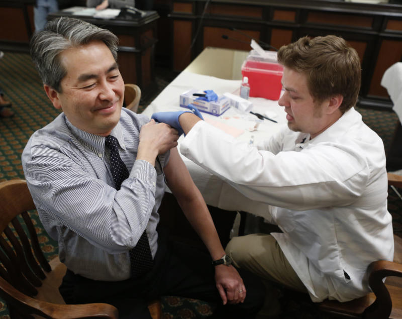 Health officials: Worst of flu season may be over