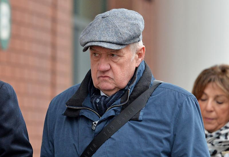 Hillsborough match commander David Duckenfield, who is accused of the manslaughter by gross negligence of 95 Liverpool supporters at the 1989 FA Cup semi-final, arriving at Preston Crown Court. (Photo by Peter Powell/PA Images via Getty Images)