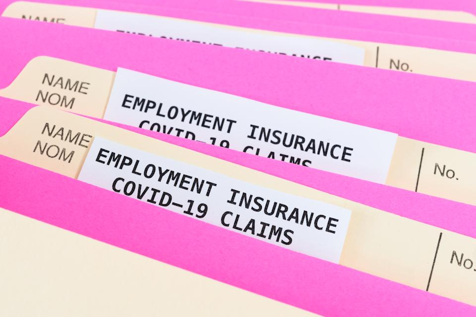 Employment insurance claims in Canada during the Coronavirus pandemic