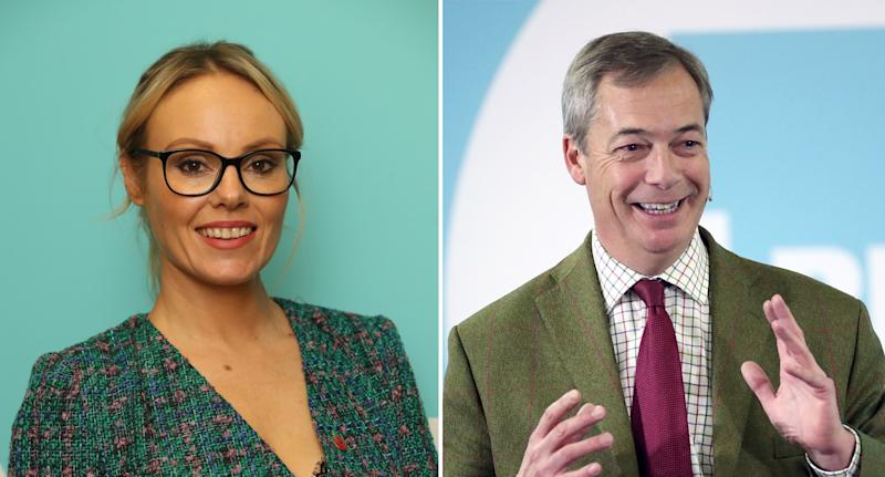 Michelle Dewberry is standing as a candidate for the Brexit Party (PA Images)