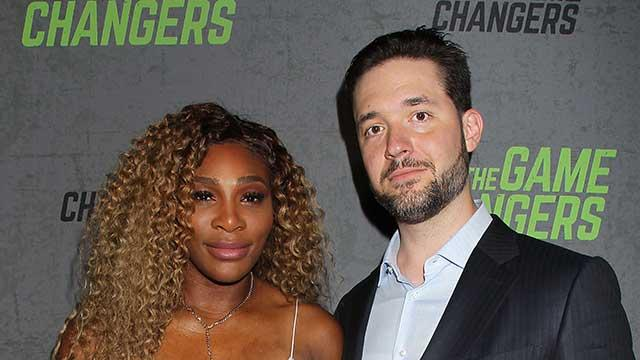 Serena Williams' Daughter Gives Alexis Ohanian a Classic #GirlDad Manicure