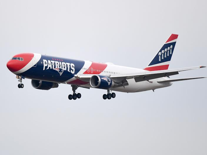 New England Patriots Boeing 767-300ER