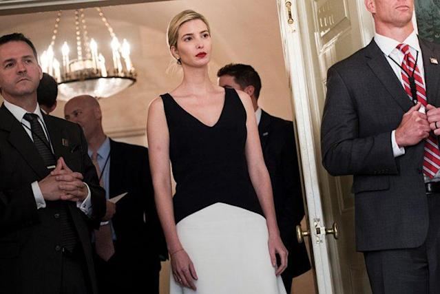 Although Ivanka Trump is no longer connected to her eponymous brand, people still associate her with it. (Photo: Getty Images)