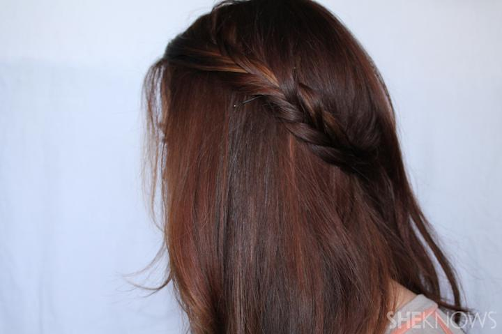 Crown braid | Sheknows.com - step 03