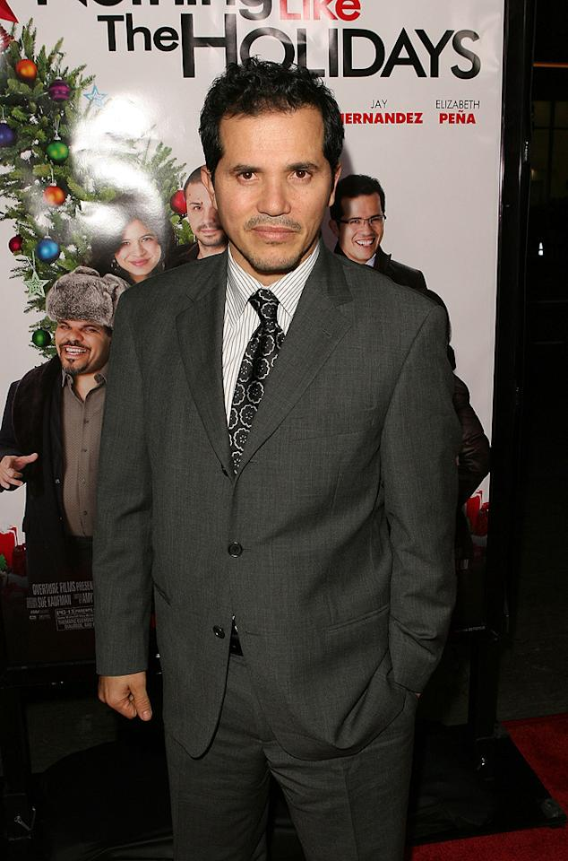 """<a href=""""http://movies.yahoo.com/movie/contributor/1800019418"""">John Leguizamo</a> at the Los Angeles premiere of <a href=""""http://movies.yahoo.com/movie/1809991685/info"""">Nothing Like the Holidays</a> - 12/03/2008"""
