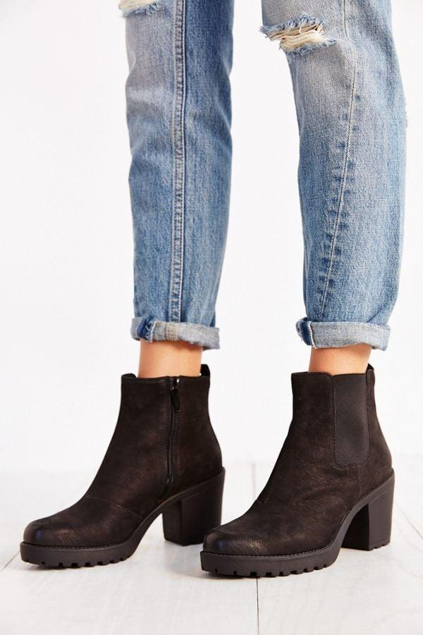 """<p>These <a href=""""https://www.popsugar.com/buy/Vagabond-Shoemakers-Grace-Platform-Leather-Ankle-Boots-478358?p_name=Vagabond%20Shoemakers%20Grace%20Platform%20Leather%20Ankle%20Boots&retailer=urbanoutfitters.com&pid=478358&price=130&evar1=fab%3Aus&evar9=46083308&list1=shopping%2Cfall%20fashion%2Cshoes%2Curban%20outfitters%2Cfall%2Cspring%2Cspring%20fashion&prop13=api&pdata=1"""" rel=""""nofollow"""" data-shoppable-link=""""1"""" target=""""_blank"""" class=""""ga-track"""" data-ga-category=""""Related"""" data-ga-label=""""https://www.urbanoutfitters.com/shop/vagabond-shoemakers-grace-platform-leather-ankle-boot?category=shoes-for-women&amp;color=001&amp;type=REGULAR"""" data-ga-action=""""In-Line Links"""">Vagabond Shoemakers Grace Platform Leather Ankle Boots</a> ($130) will get you through Fall in style.</p>"""