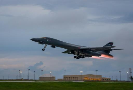 US bombers overfly Korean peninsula in show of force