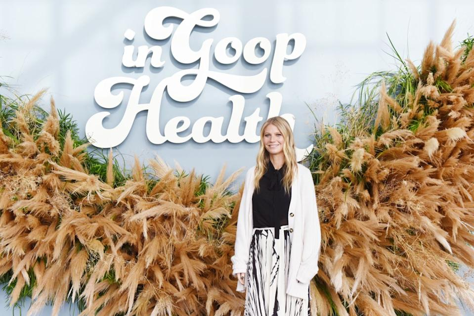 Gwyneth Paltrow bei der 2019 In Goop Health-Konferenz in San Francisco im Craneway Pavillion am 16. November 2019. Foto: Getty