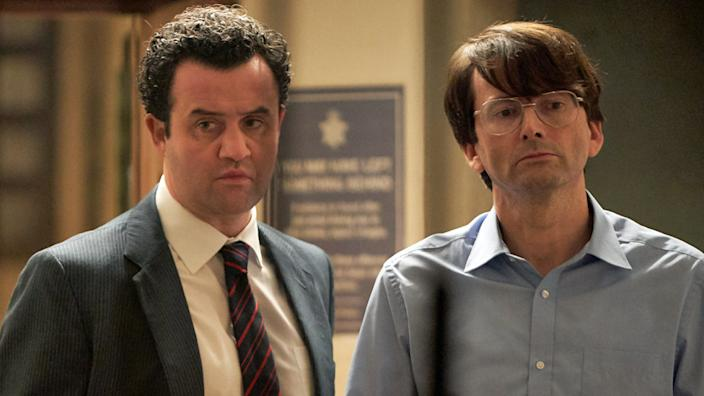 Daniel Mays is the detective who tries to build the case against Nilsen