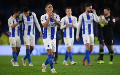 <span>Brighton are a welcome addition to the rich tapestry of the Premier League's mid-table</span> <span>Credit: GETTY IMAGES </span>