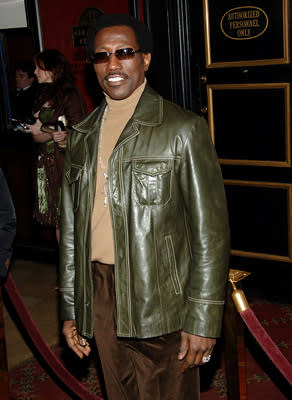 """Premiere: <a href=""""/movie/contributor/1800018882"""">Wesley Snipes</a> at the NY premiere of Universal Pictures' <a href=""""/movie/1808716085/info"""">Inside Man</a> - 3/20/2006<br>Photo: <a href=""""http://www.wireimage.com"""">Jamie McCarthy, Wireimage.com</a>"""