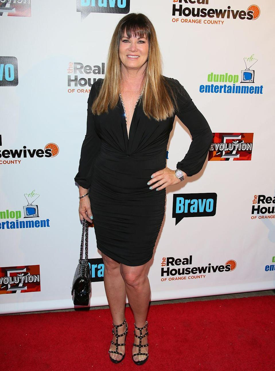 """<p>Jeana Keough was the very first Housewife America met. On March 21, 2006, the opening scene of <em>The Real Housewives of Orange County</em> season 1 introduced Jeana at work as a real estate agent in the exclusive gated communities of Coto de Caza, California. Jeana's marriage fell apart during her time on the show, which she left after five seasons to refocus on her career. She is still working as a <a href=""""https://www.coldwellbanker.com/Coldwell-Banker-Realty-12669c/Jeana-Keough-603281a"""" rel=""""nofollow noopener"""" target=""""_blank"""" data-ylk=""""slk:real estate agent"""" class=""""link rapid-noclick-resp"""">real estate agent</a> in Orange County today.</p>"""