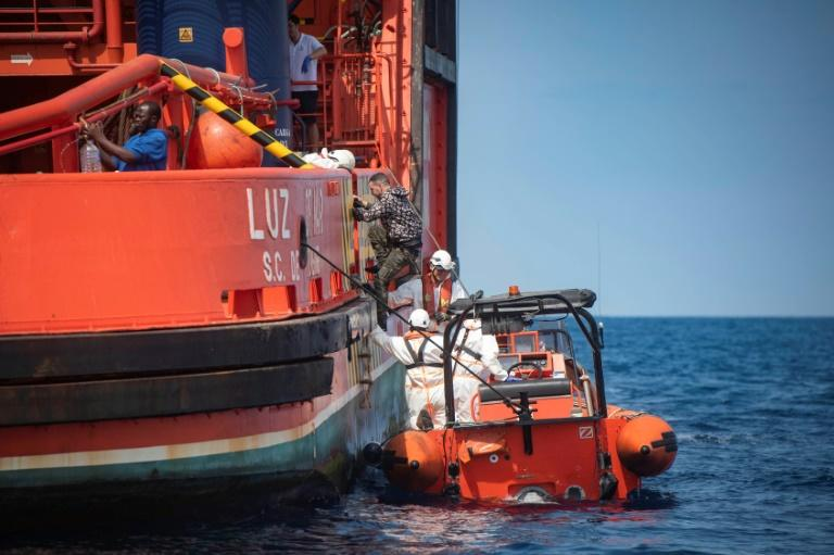 Spain's Salvamento Maritimo rescue service said 95 people were rescued on Boxing Day, following around 200 on Christmas Day