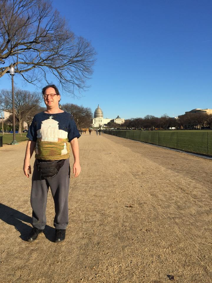 Barsky poses in D.C. (Photo: Facebook)