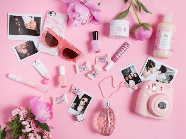 Millennial pink is having a moment, and it looks like this beautiful bright hue is here to stay. (Photo: Priscilla De Castro for Yahoo Beauty)