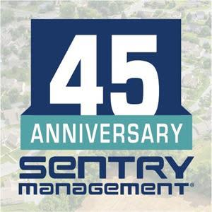 Sentry Management, starting two employees in 1975, now operates 39 offices in 17 states--marking 45 years in business.