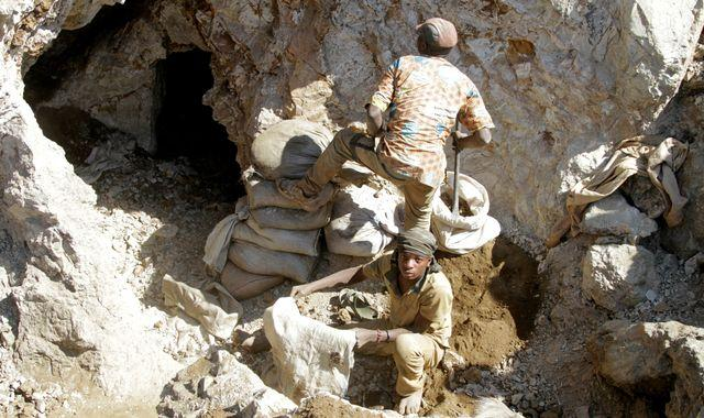 At least 50 dead after gold mine collapses in DR Congo