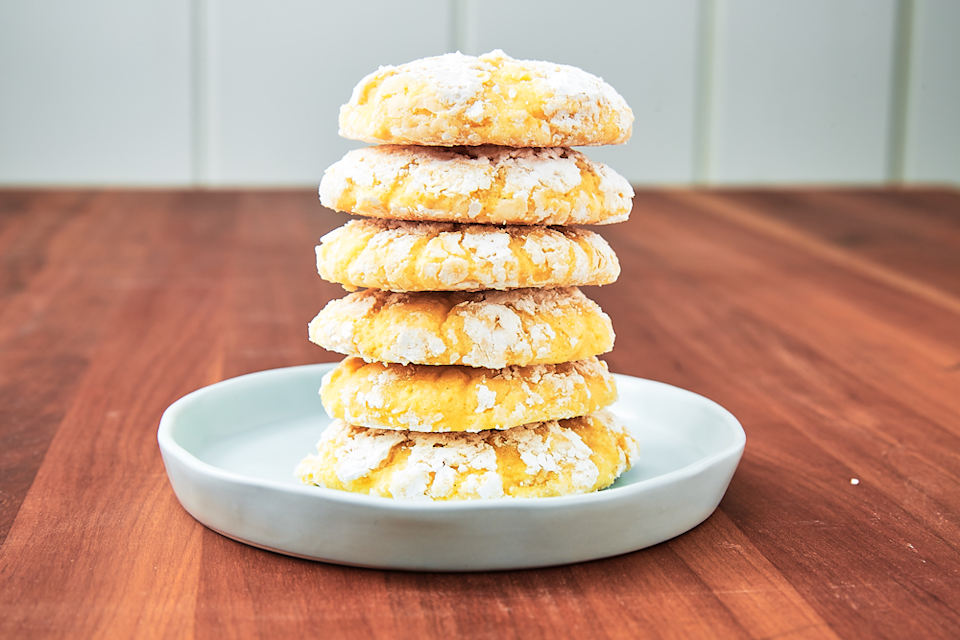 """<p>When life gives you...well, you know the rest.</p><p>Get the recipe from <a href=""""https://www.delish.com/cooking/a19646127/lemon-butter-cookies-recipe/"""" rel=""""nofollow noopener"""" target=""""_blank"""" data-ylk=""""slk:Delish"""" class=""""link rapid-noclick-resp"""">Delish</a>.</p>"""