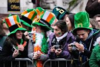 <p>You'll get in the St. Paddy's Day spirit right away by attending a festive, cheerful St. Patrick's Day parade. Celebrating the day with parades happens around the world, including in the U.S., Ireland, Australia, Russia, and more.</p>