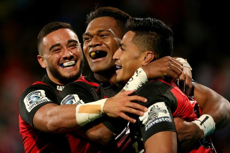 The Canterbury Crusaders are vying to retain their unbeaten Super Rugby record and ensure they finish top of the regular season ladder