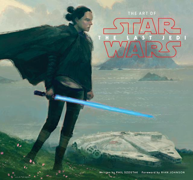<p>Abrams offers this lavishly illustrated coffee-table book collecting concept art, storyboards, and costume sketches tracing the evolution of the film from Rian Johnson's initial screenplay to the screen. </p>