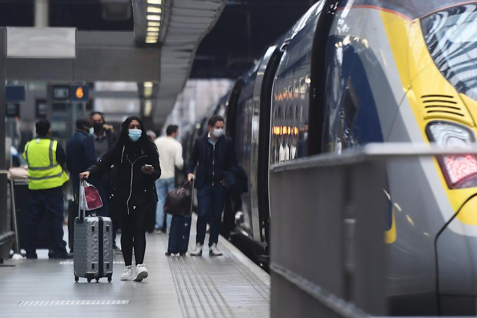 <p>Where next? London St Pancras International, hub for Eurostar, has a hotel attached</p> (Getty Images)