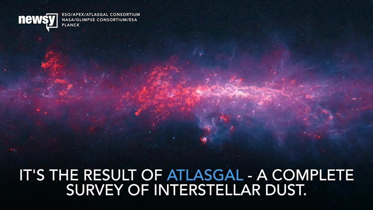 Gorgeous New Milky Way Image Maps Our Galaxy's Dust