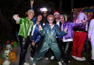 <p>However, Biel didn't leave the costume there, she also roped in four friends to portray the other members of *NSYNC: Lance Bass, JC Chasez, Chris Kirkpatrick and Joey Fatone.</p>