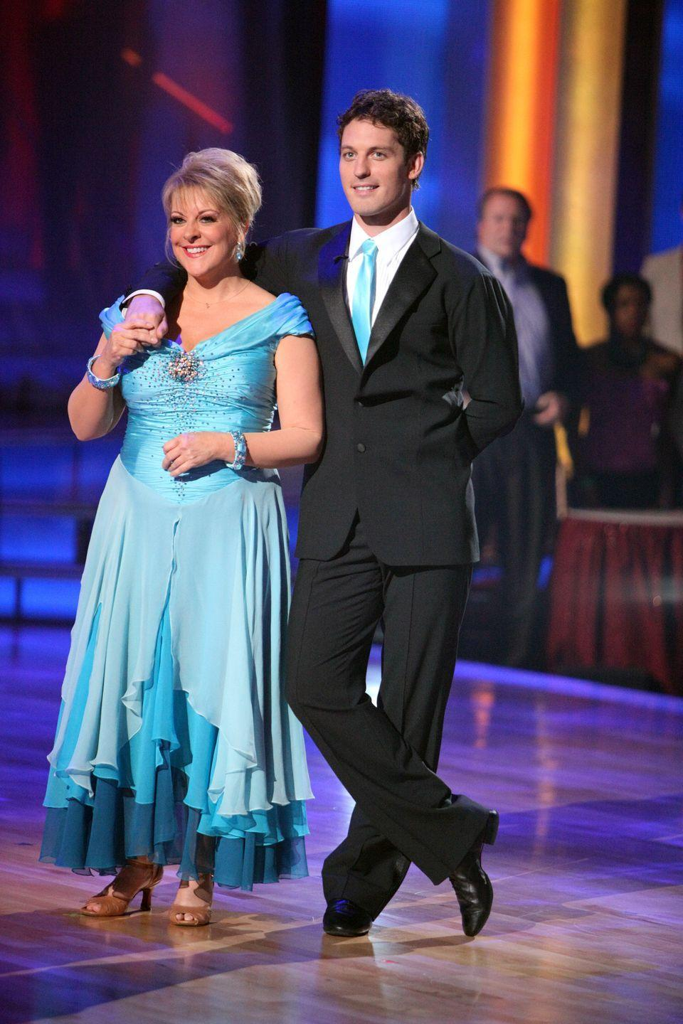 <p>It all started when Nancy Grace was being interviewed by co-host Brooke Burke and a low gargling noise was picked up by the mic. Viewers were quick to blame Nancy for releasing gas on air. The journalist denied it, and placed blame on her fellow contestants that were sitting behind her, instead.</p>