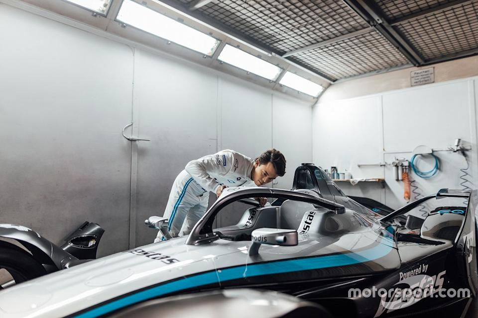"Nyck De Vries, Mercedes-Benz EQ Formula E Team<span class=""copyright"">Daimler AG</span>"