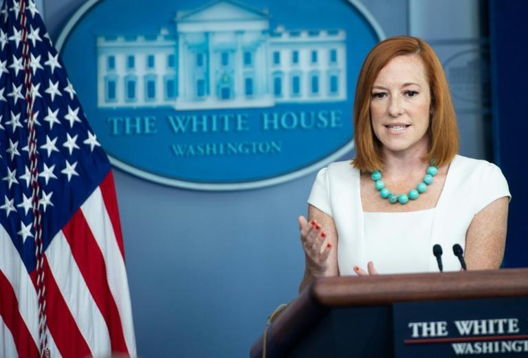 White House Press Secretary Jen Psaki describes diplomacy with China during a press briefing