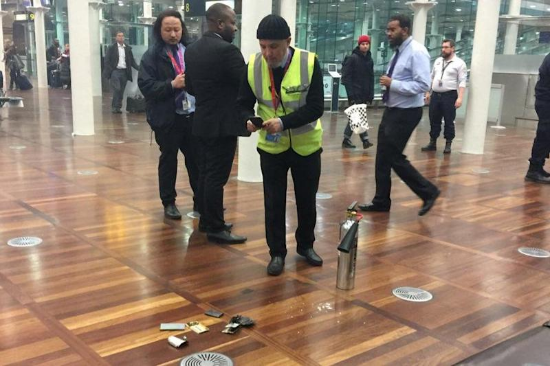 The scene at the St Pancras Eurostar terminal (Haxie Meyers-Belkin/France24)