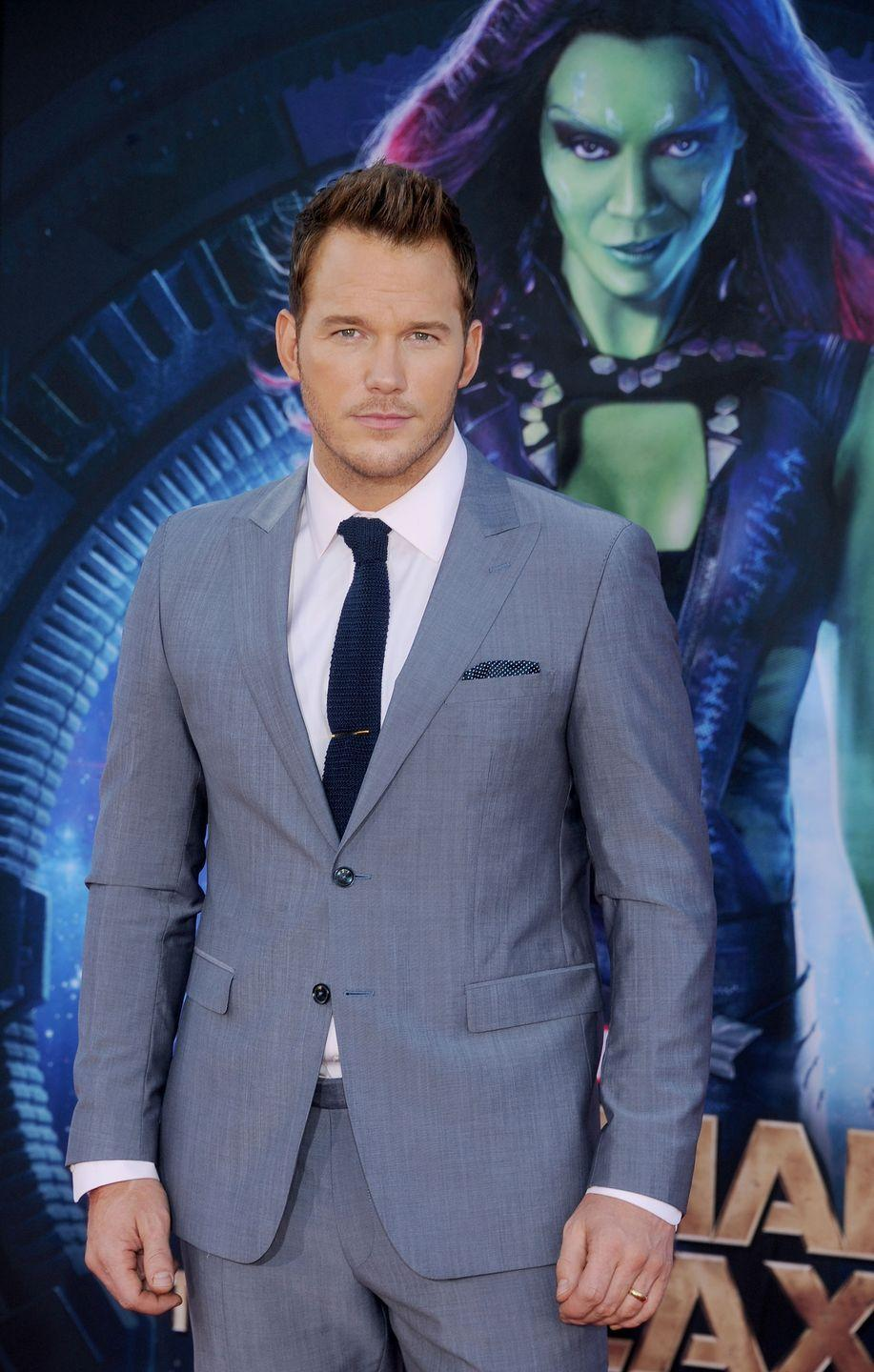 <p>After becoming a fan favorite as the lovable Andy Dwyer on <em>Parks and Recreation, </em>Chris Pratt became a leading man with a major glow-up in 2014. First, he starred in <em>Guardians of the Galaxy </em>in 2014, then he appeared in <em>Jurassic World</em> the following year.</p>