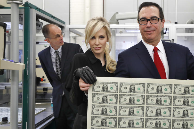 Treasury chief a Bond villain? Mnuchin OK with comparison