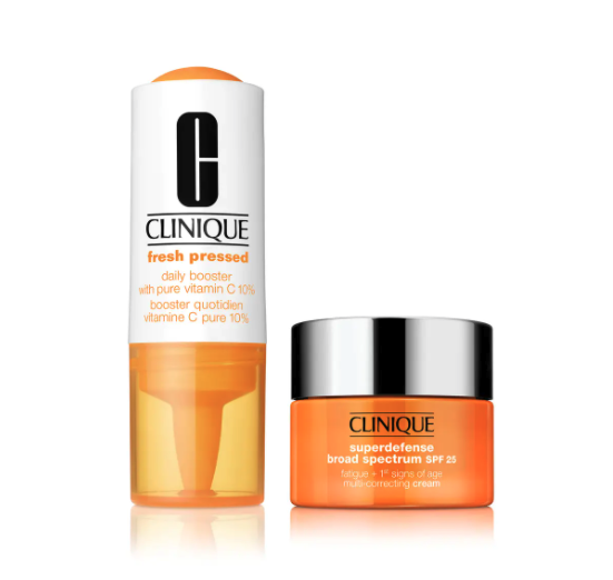 Clinique Fresh Pressed 7-Day Recharge System. Image via Nordstrom.
