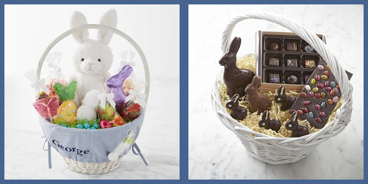 <p>Even the most dedicated Easter bunny can feel overwhelmed by the time the big day arrives, especially those who might be less DIY inclined. This year, take the stress out of this spring festival by investing in one of the beautiful, thoughtfully prepared baskets that will ship right to your door. Now all you have to worry about is the oncoming sugar coma. </p>