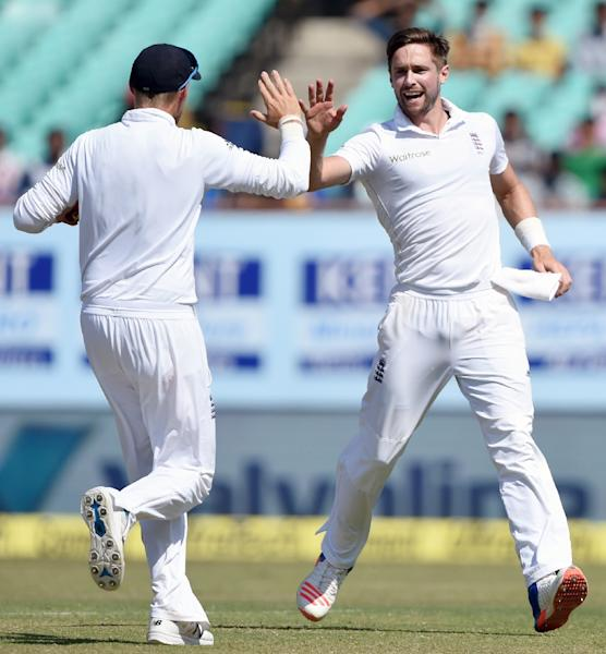 Chris Woakes (right) will also return to the England test side (AFP Photo/Indranil Mukherjee)