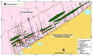 Location of Berry Zone Exploration Drill Hole Collars VL-20-877 to VL-20-894.