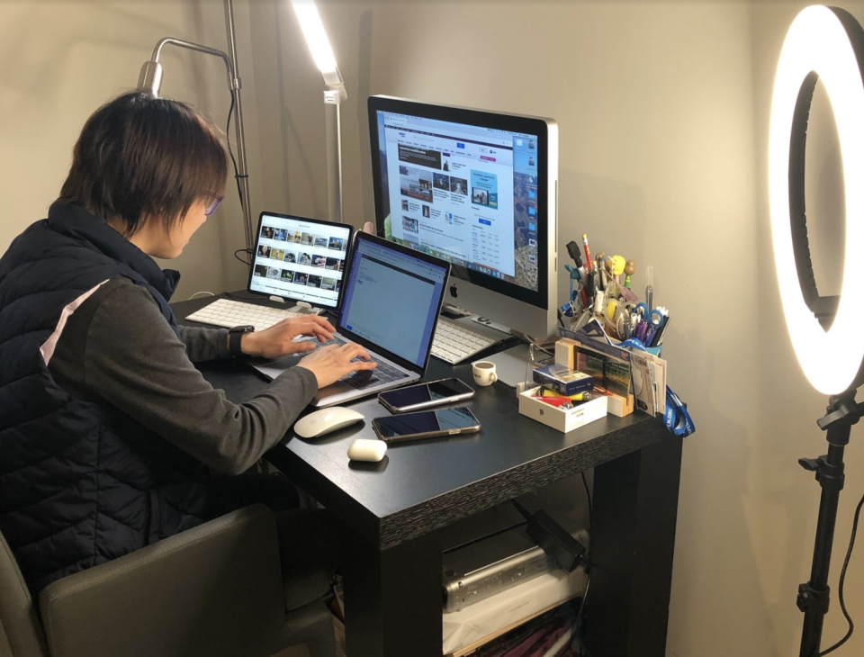 Yahoo Finance senior executive producer Lulu Chiang leads coverage from home this week.