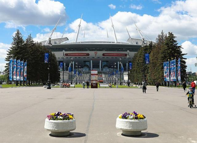 Saint Petersburg Stadium is one of the sites of the 2017 Confederations Cup in Russia. (Getty)