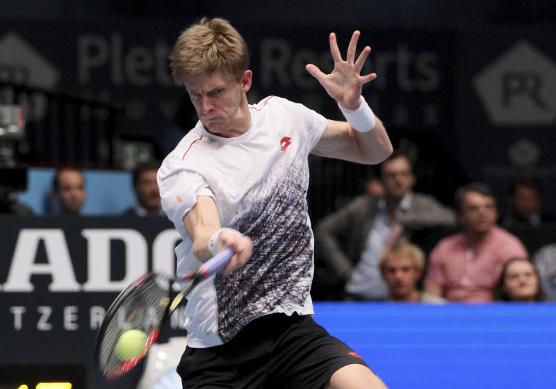 Kevin Anderson tops Kei Nishikori for the biggest title — ATP Vienna