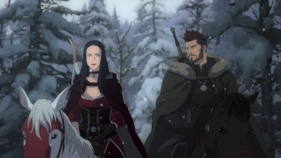 In The Witcher: Nightmare of the Wolf we get less Henry Cavill, but the same amount of gore and monsters as the regular Witcher. Picture: Netflix